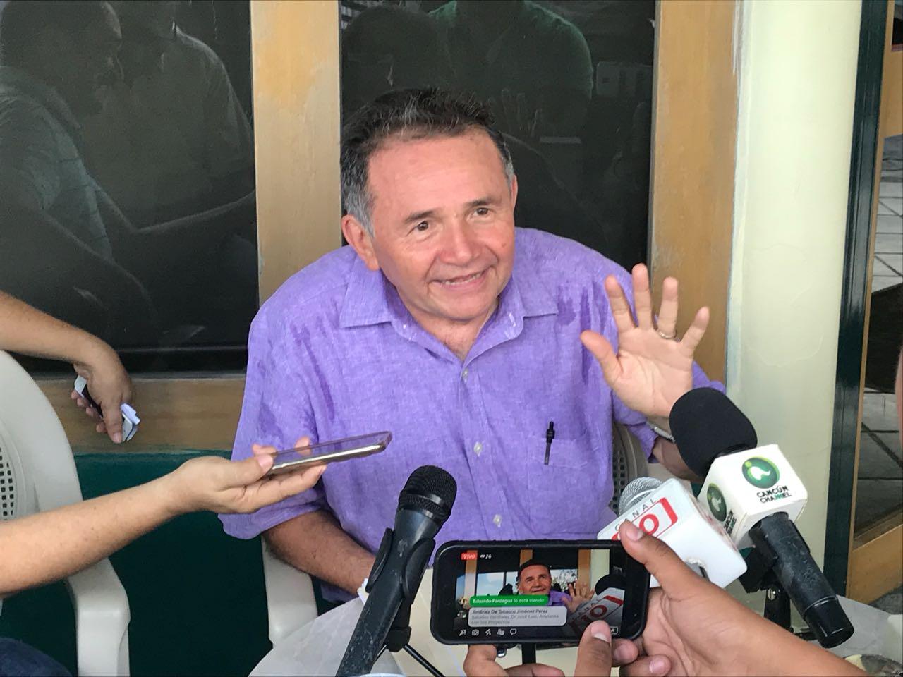 Aclara José Luis Pech que 'Tren Maya' es proyecto de AMLO y no de otros gobiernos