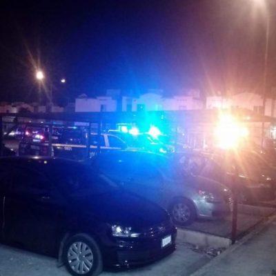 BALAZOS EN LA MADRUGADA EN VILLAS OTOCH PARAÍSO: Una mujer recibió al menos 6 disparos y fue llevada grave a un hospital de Cancún