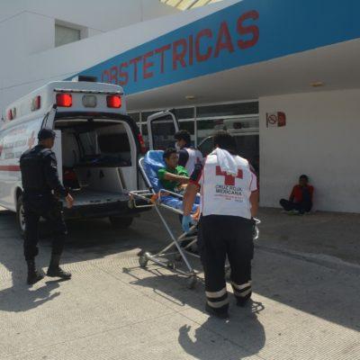 Herido de bala en Akumal