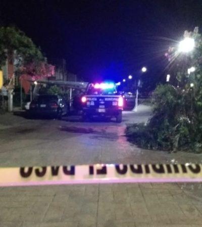 Disparo en la Región 260 de Cancún sin reporte de heridos o detenidos