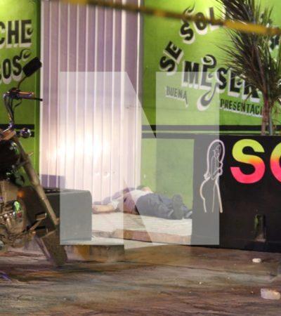SANGRIENTA NOCHE DEL SÁBADO EN CANCÚN: Cuatro muertos y dos heridos en diferentes puntos de la ciudad casi al mismo tiempo