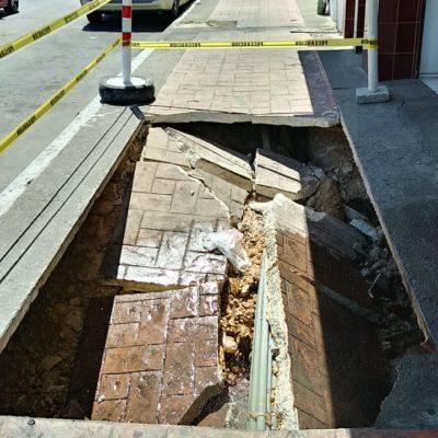 Colegio de Ingeniero pide que se realice un censo de viviendas y comercios, ante hundimientos y socavones en Chetumal