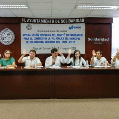 Niega comuna  60 permisos para ejercer el comercio en vía pública por no ser viables para la actividad en Playa del Carmen