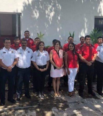 Inauguran Academia de Bomberos de Cancún; buscarán la profesionalización y capacitación física y teórica de los rescatistas