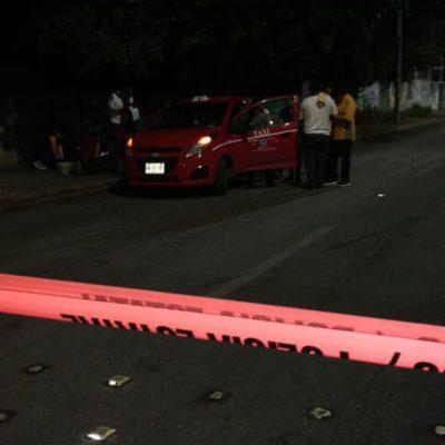 Atacan a balazos a taxista de Isla Mujeres en la Región 227 de Cancún