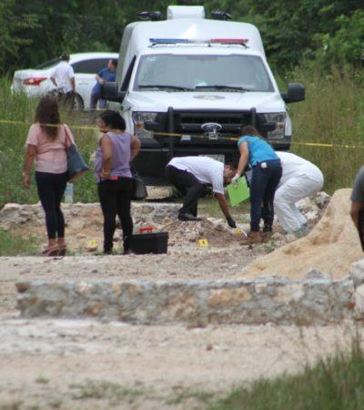 'LEVANTAN' Y EJECUTAN A UNA MUJER EN CANCÚN: Abandonan cadáver de esposa de un taxista en la colonia El Trébol, por libramiento Gas Auto