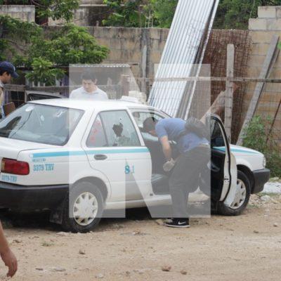 EJECUTAN A UN TAXISTA EN PLAYA: Matan a conductor de un disparo en la cabeza en la colonia In House; suman 46 casos en Solidaridad en 2018