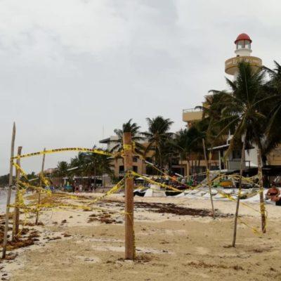 Socavón de la playa 'El Faro' se rellenó de manera natural, afirman autoridades municipales
