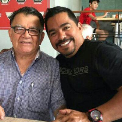 DIOS LOS HACE…: El ex fotografo privado de Borge hace 'migas' con el 'virrey' de AMLO en Quintana Roo
