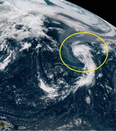 Se forma tormenta subtropical 'Ernesto', pero no representa riesgo para Quintana Roo