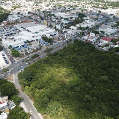 Camellón central de la SM 60 de Cancún pertenece a particulares, precisa Implan; deja abierta la posibilidad de que la zona sea densificada