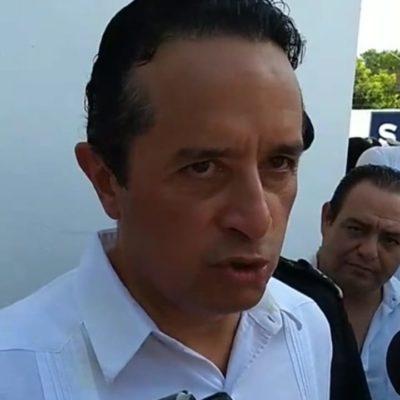 Carlos Joaquín anunció que buscará recurso federal para contribuir con la limpieza de playas, además de recibir lanchas sargaceras