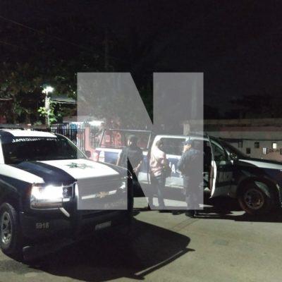 AGITADA NOCHE DE SÁBADO EN CANCÚN: Hieren de un balazo a un hombre en la Región 219