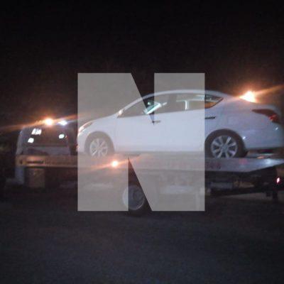 SECUESTRO Y PERSECUCIÓN DE XUILUB A COBÁ: Plagian en Valladolid a comerciante de Chanchén I; aseguran auto, pero delincuentes huyen con su víctima