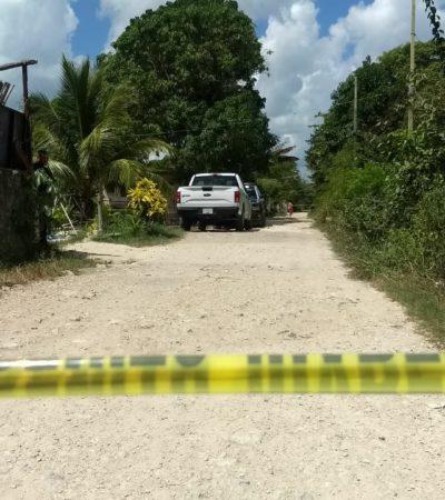Hallan cuerpo de hombre asesinado a pedradas en el interior de un domicilio de la colonia Avante de Cancún
