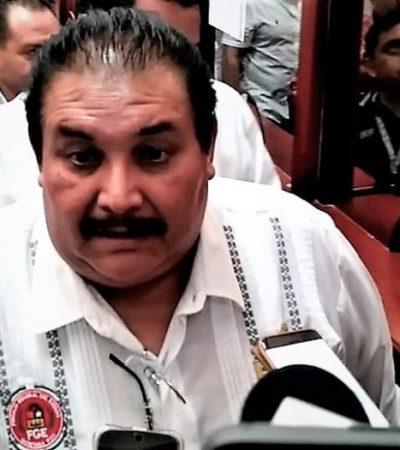 Tras comparecer en el Congreso, reitera Miguel Ángel Pech que no está en sus planes renunciar al cargo de Fiscal General de QR