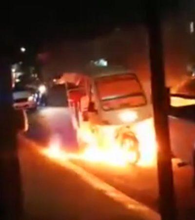 Líder taxista se deslinda de ataque a mototaxis en Villas del Sol, Sintra aclara que no es su competencia y Cristina llama a la cordura: no hay responsables del atentado