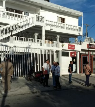 Se roban cajero automático en la SM 90 de Cancún