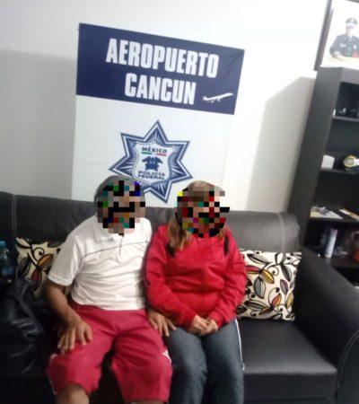 Rescatan a pareja de turistas nacional en hotel de la Portillo de Cancún en un caso de secuestro virtual