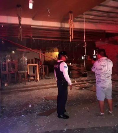 Potente explosión en un bar sacude durante la madrugada a la zona turística de Playa; no hay heridos
