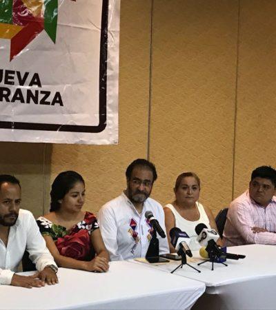 Llama René Bejarano a la unión de las izquierdas en Quintana Roo; desde Morena hasta el PRD