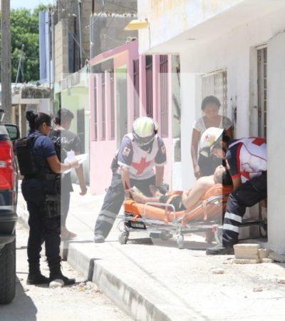 CUARTO BALEADO EN 30 DÍAS EN LA 76: Disparan contra un hombre en un domicilio de Cancún