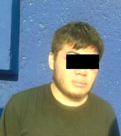Detienen en Cancún a joven de 22 años por abuso sexual