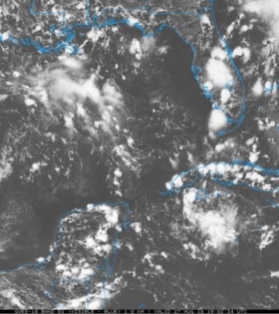 Seguirá el calor y la presencia de lluvias vespertinas de diversa intensidad en la península de Yucatán