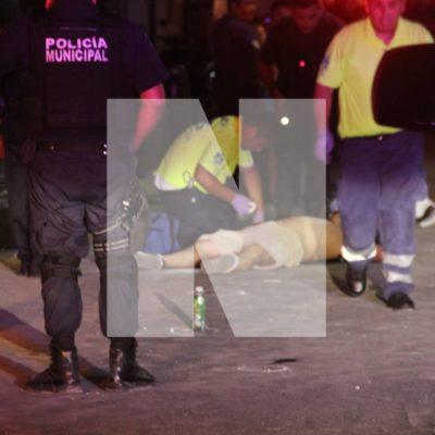VIOLENTA NOCHE DE LUNES EN CANCÚN: En ataques consecutivos, balean a una mujer en la SM 72 y dejan un muerto y un herido en la Región 94