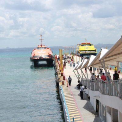 Terminal Marítima de Playa del Carmen iniciará labores de mantenimiento en septiembre por temporada baja