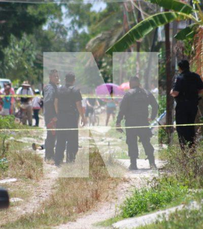 MATAN A OTROS DOS EN LA COLONIA LOS GARCÍA: Un estudiante del Cecyte que trató de esconderse del tiroteo, cayó muerto hoy en Cancún