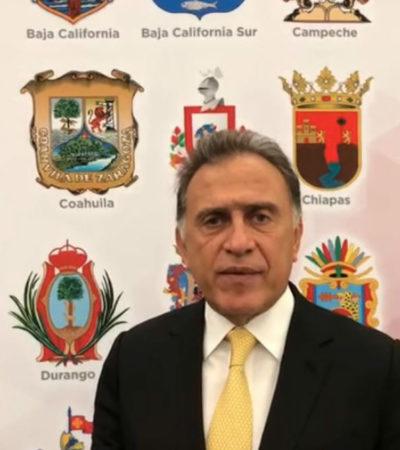 Continuarán Ejército y Marina en Veracruz, confirma Yunes tras reunión con AMLO