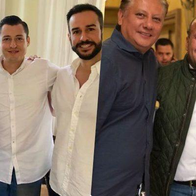 Reaparece 'Chanito' Toledo en reunión nacional de Movimiento Ciudadano con Enrique Alfaro y Colosio Riojas