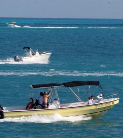 Actividades acuáticas en Cancún registraron alta ocupación durante el periodo vacacional
