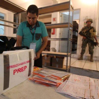 INE concluye trabajos del proceso electoral 2018 en QR