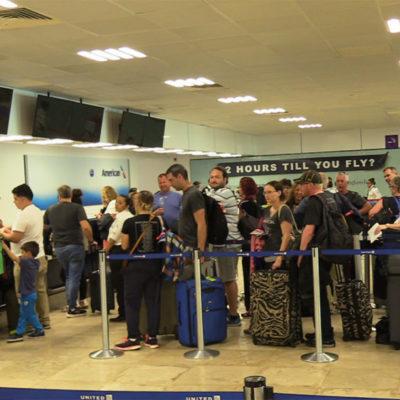 Incrementa un 22% el número de turistas que llegan por vía aérea a Cozumel