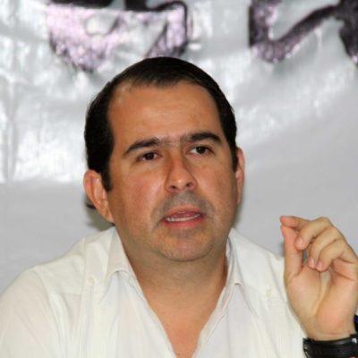 """Debate al interior del PRD por licencia de Aguilar Osorio: """"regresa a su cargo o renuncia a éste"""", dice Sergio Flores"""
