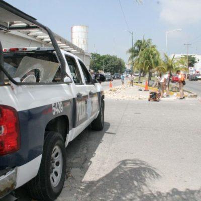 Ayuntamiento de BJ instalará señaléticas en las avenidas Xcaret y Cobá para iniciar con el programa de los pares viales