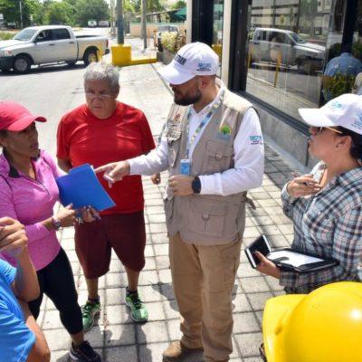 Ciudadanos avalan la obra de ciclovía, pero llaman a garantizar la seguridad vial en Cancún