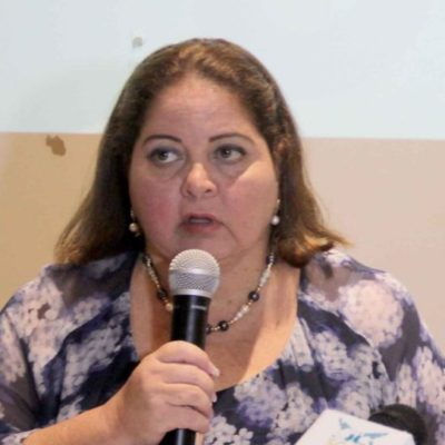 """""""Marisol Vanegas, secretaria de Turismo, perdió 24 mdp para la zona arqueológica de Xcabal y será llamada a comparecer"""", dice la diputada Gabriela Angulo"""