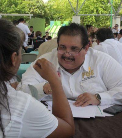 Miguel Ángel Pech dice que no es culpa de la FGE la tipificación de delitos como el feminicidio en Cancún, donde la ciudadanía acusa más de 30, pero las autoridades sólo registran dos en lo que va del año