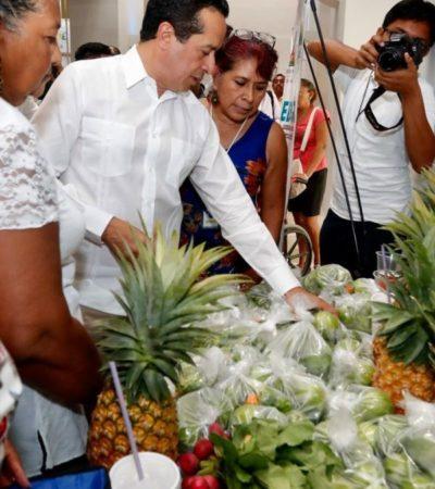 Inaugura Gobernador feria PYME 'Proyéctate al Sur' en QR