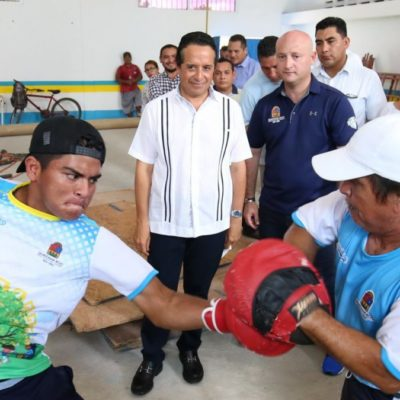 Invierten más de 16.3 mdp en mejoramiento de instalaciones deportivas en Quintana Roo