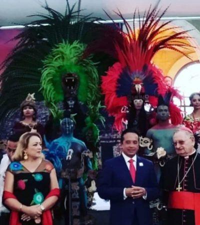 SIGUE GOBERNADOR VIAJE EN ITALIA: Carlos Joaquín promueve la cultura de Quintana Roo en Roma y el Vaticano