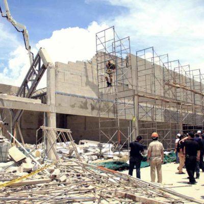 AUMENTA A DOS LA CIFRA DE MUERTOS EN DERRUMBE: Fallece en hospital de Cancún otro albañil accidentado en construcción en Puerto Morelos