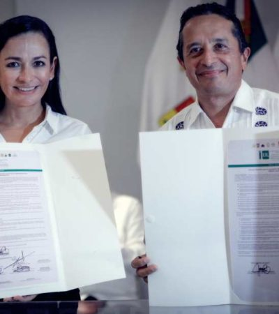 Reafirma Laura Fernández disposición a trabajar de manera coordinada con el Gobierno de QR