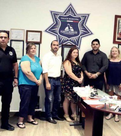 Mantiene Ayuntamiento de Puerto Morelos colaboración estrecha con representantes consulares