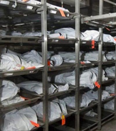 Enviará la Fiscalía 52 cuerpos no identificados a fosas individuales