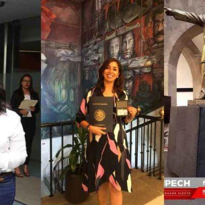 Reciben Senadores y Diputados electos por Quintana Roo sus respectivas acreditaciones para entrar al Congreso de la Unión