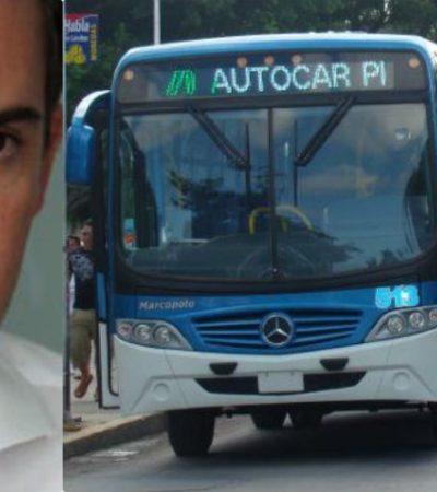 """""""ES UN TEMA DE CONSENSOS…. PERO NO HAY PLAZO FATAL"""": Dice Remberto Estrada que ampliación de las concesiones del transporte urbano no tiene que resolverse en su gobierno"""